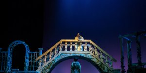 "Shenandoah Conservatory production of Shakespeare's ""Romeo and Juliet."" Photo by C. King Photography"